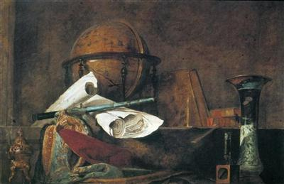 Attributes of Science by Jean-Simeon Chardin