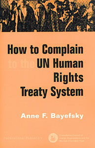 How to Complain to the UN Human Rights Treaty System