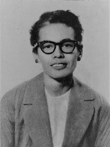Pauli Murray, Senior Fellow, Yale Law School. Office of Public Affairs, Yale University.  Courtesy of Manuscripts and Archives, Yale University Library.