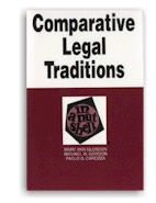 Comparative legal traditions in a nutshell. 3rd ed.