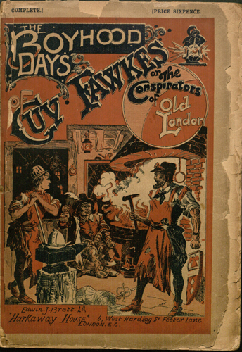 The boyhood days of Guy Fawkes (1895)