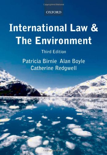 International Law & the Environment