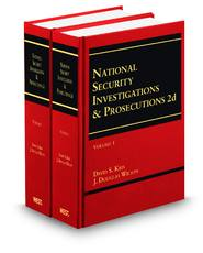 National Security Investigations & Prosecutions, 2nd ed.