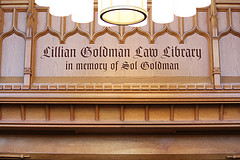 Welcome to the Lillian Goldman Law Library!