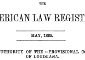 Image of the beginning of the article by Simeon Baldwin