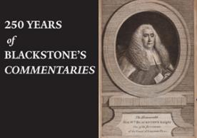 250 Years of Blackstone's Commentaries exhibition