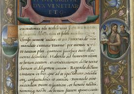 Commission from Doge Andrea Gritti appointing Federico Renier as governor of Verona, 1530.