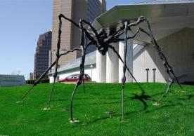 """Spider : General view"" by Louise Bourgeois"