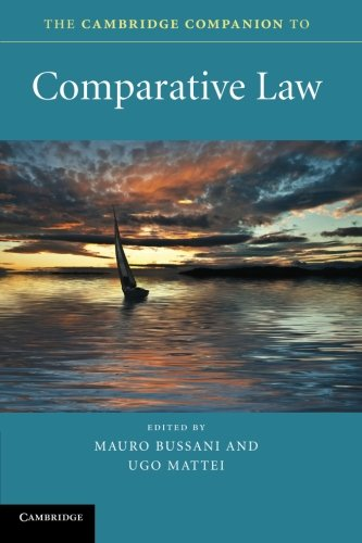 The Cambridge Companion to Comparative Law