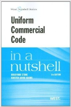 Uniform Commercial Code in a Nutshell.