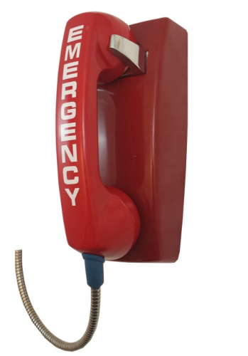 Red Emergency Phones