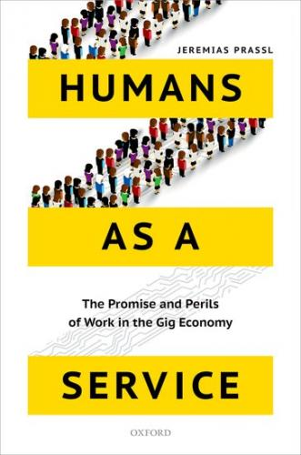 Book Jacket: Humans as a Service