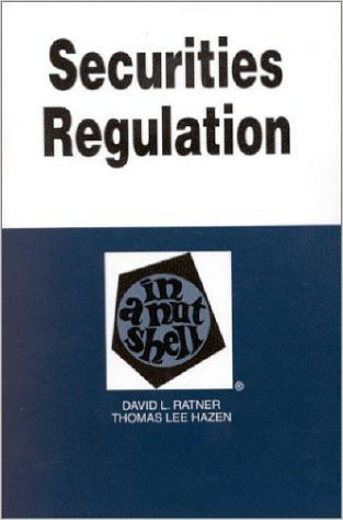 Book Cover Securities Regulaton in a Nutshell