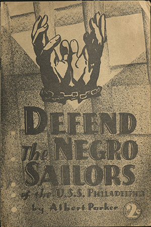Defend the negro sailors on the U.S.S. Philadelphia. 1940.