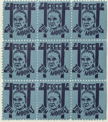 Tom Mooney fundraising stamps