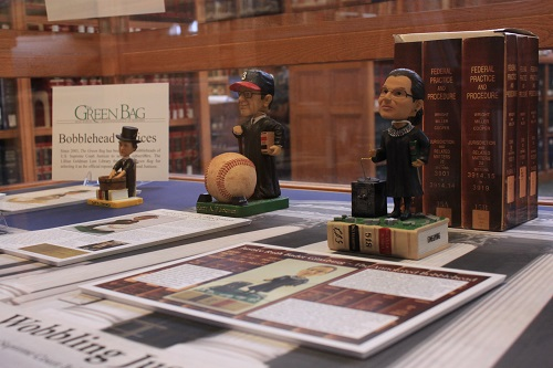 Wobbling Justice: An Exhibition of Supreme Court Bobbleheads