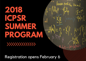 ICPSR summer program registration is open