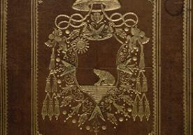 Binding with arms of Cardinal Francesco Ricci