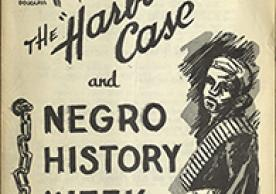 "The ""harboring case"" and Negro History Week (1954?)"