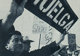 Farmworkers' strike in California, around 1968