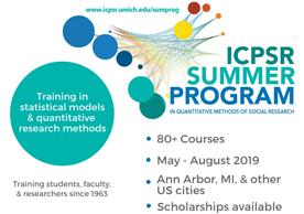 icpsr summer program graphic