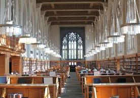 Lillian Goldman Law Library Reading Room
