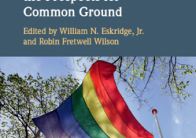 Book Talk: Religious Freedom, LBGT Rights, and The Prospects for Commom Ground