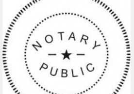 image of notary public stamp