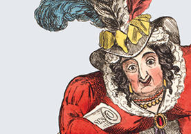 Caricature of Queen Caroline