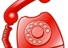 red emergency phone icon