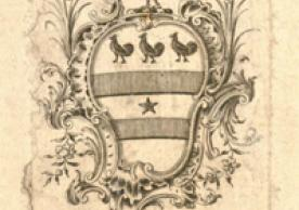 Bookplate of Sir William Blackstone (1723-1780)
