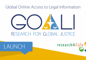 Research4Life launches Global Online Access to Legal Information