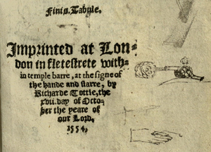 Fitzherbert, New boke of iustices of peace (1554)