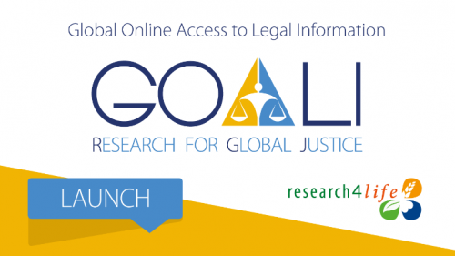 Global Online Access to Legal Information: GOALI Research for Global Justice